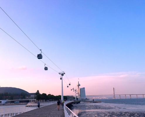 Lisbon Telecabine